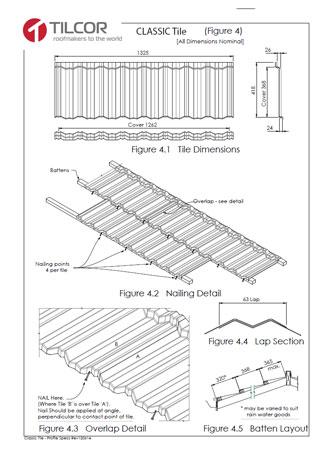 Tilcor tehnični listi