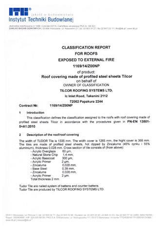 ITB ognjevarni test