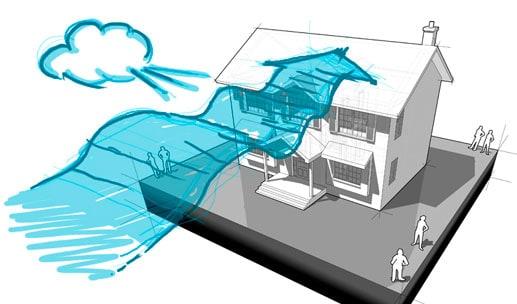 Kritina in veter na strehi